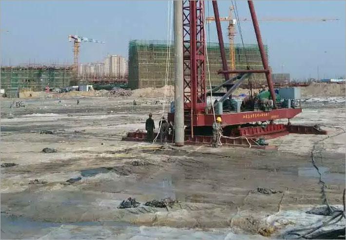 深层水泥土搅拌旋喷法地基处理技术