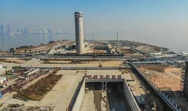水泥土搅拌桩:汕头市苏埃通道工程