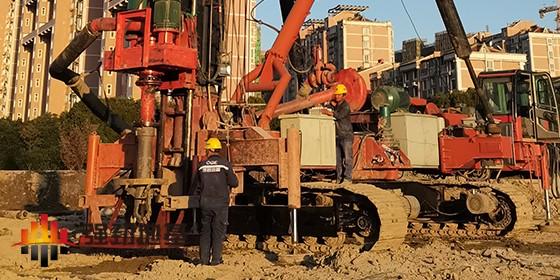 强劲地基基坑围护桩施工工艺之钻孔灌注桩工艺