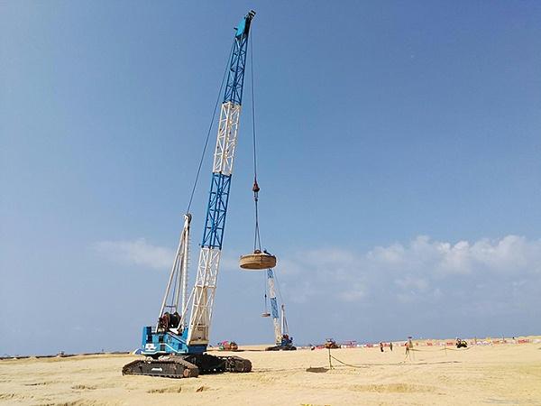 强夯置换地基处理:科伦坡港口城项目