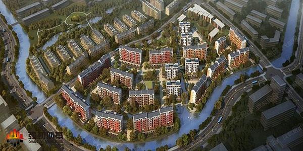 上海万科安亭新镇项目