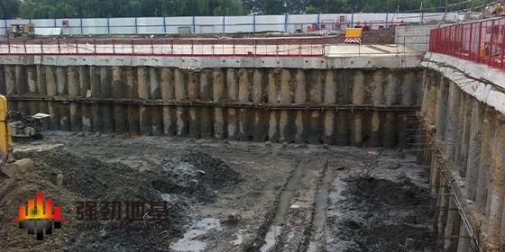 基坑围护桩(墙)的几种形式
