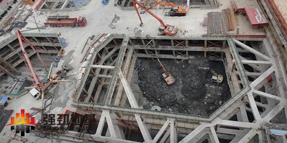 基坑工程的混凝土支撑