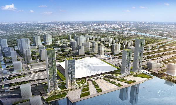 苏州高铁站枢纽综合开发项目