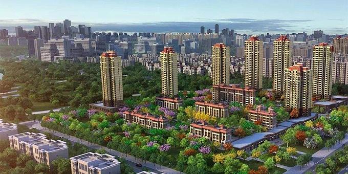 大型住宅社区项目:连云港恒大名都