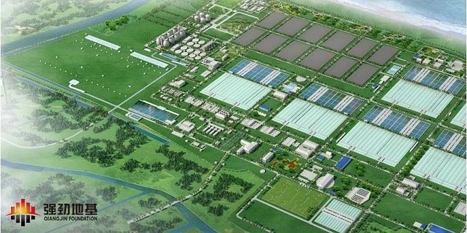 智能植桩:上海白龙港污水处理厂