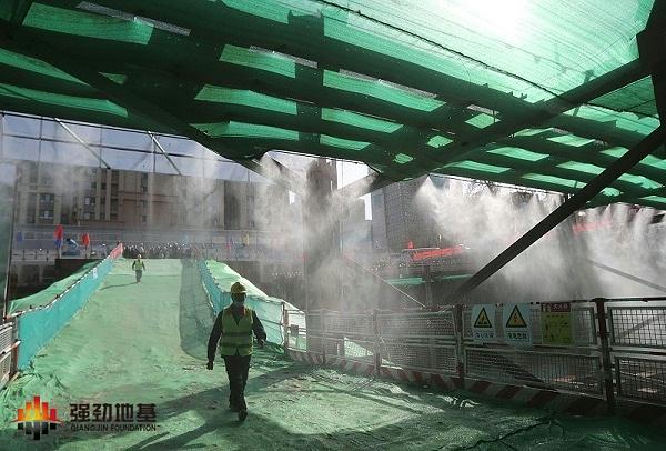 工地天幕防尘系统