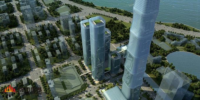 518米超高层项目、旋挖成孔:安徽合肥恒大中心