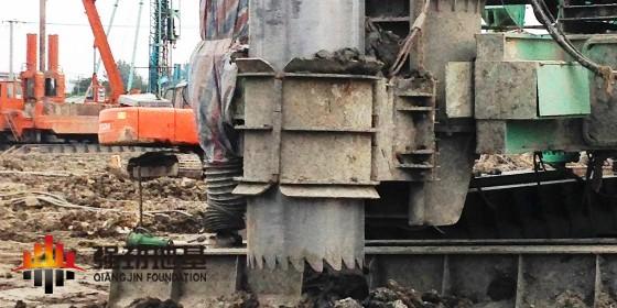 全护筒原状取土压灌混凝土桩的施工流程