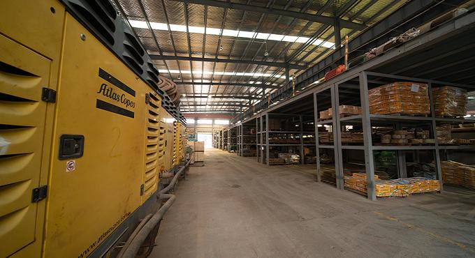 设备材料仓库