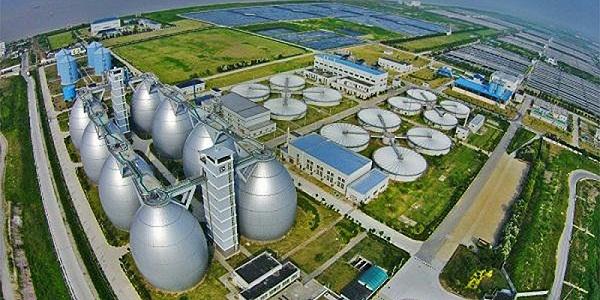 白龙港污水处理厂