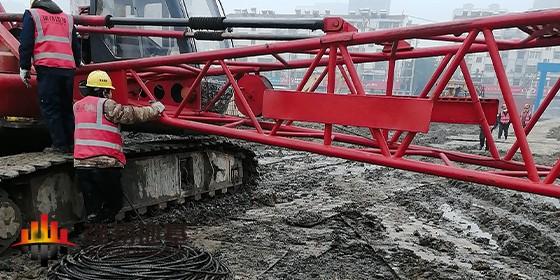 设备管理:及时更换吊车钢丝绳