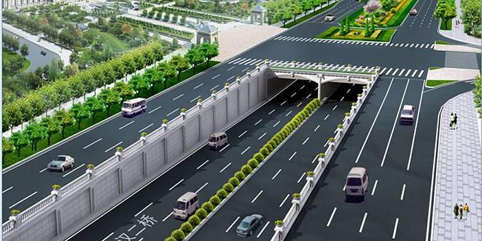 SMW工法:武汉市二环线汉口段地下通道
