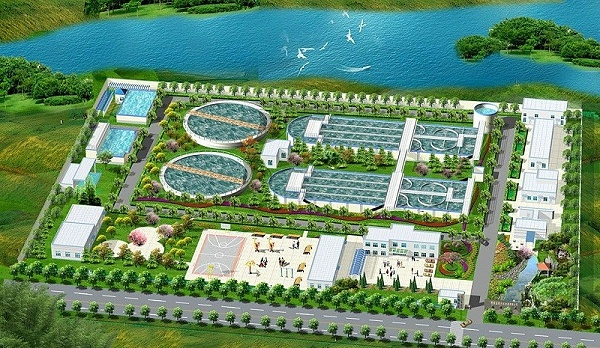 张家港市金港污水处理厂