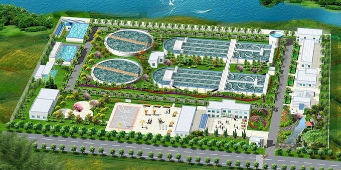 工业设施基坑支护:张家港市金港污水处理厂