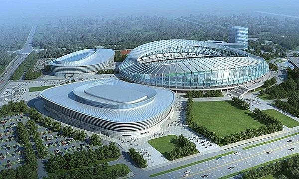 抗浮桩:江苏宿迁运河文化体育会展中心