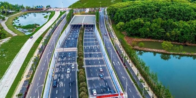 基坑工程:武汉东湖隧道北岸段与湖中段