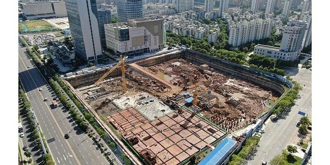 基坑工程:南昌中唯商业中心