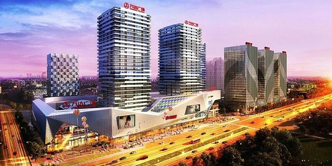 基坑工程:济南高新万达广场