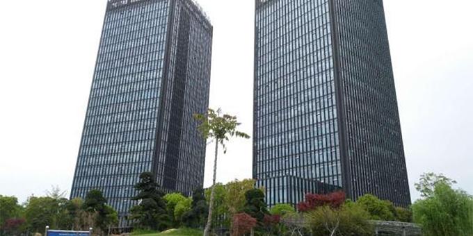 基坑工程:上海松江高科技园双子楼