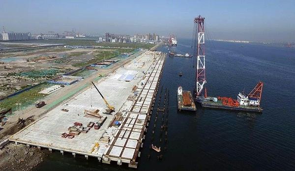 基坑工程:天津港大沽口港区仓储物流中心