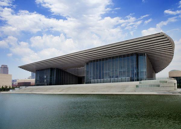 基坑工程:天津文化中心大剧院