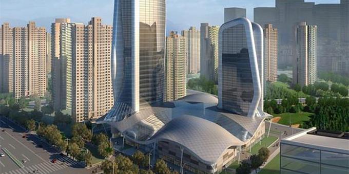 深基坑工程:武汉嘉裕五星级酒店